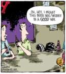 Cartoonist Dave Coverly  Speed Bump 2013-10-26 insult