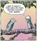 Cartoonist Dave Coverly  Speed Bump 2013-11-18 over
