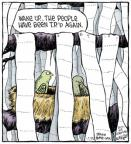 Cartoonist Dave Coverly  Speed Bump 2013-11-23 tree