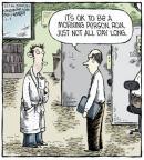 Cartoonist Dave Coverly  Speed Bump 2013-12-02 job