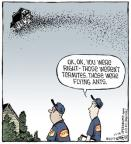 Cartoonist Dave Coverly  Speed Bump 2013-12-14 pest control