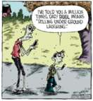 Cartoonist Dave Coverly  Speed Bump 2013-12-20 laugh
