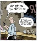Cartoonist Dave Coverly  Speed Bump 2013-12-26 yap