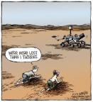 Cartoonist Dave Coverly  Speed Bump 2014-01-03 moon
