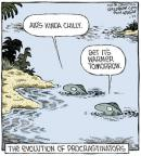 Cartoonist Dave Coverly  Speed Bump 2014-01-25 science