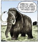 Cartoonist Dave Coverly  Speed Bump 2014-01-28 mammoth