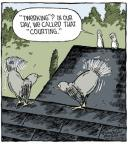 Cartoonist Dave Coverly  Speed Bump 2014-02-04 behavior