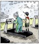 Cartoonist Dave Coverly  Speed Bump 2014-02-06 boy scout