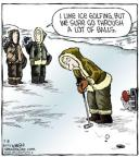 Cartoonist Dave Coverly  Speed Bump 2014-02-08 sport