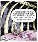 Cartoonist Dave Coverly  Speed Bump 2014-02-25 than