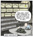 Cartoonist Dave Coverly  Speed Bump 2014-02-26 pile