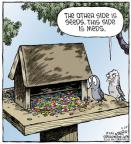 Cartoonist Dave Coverly  Speed Bump 2014-03-20 pharmaceutical