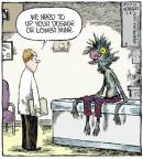 Cartoonist Dave Coverly  Speed Bump 2014-04-08 pharmaceutical