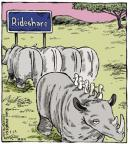 Cartoonist Dave Coverly  Speed Bump 2014-04-24 rhinoceros