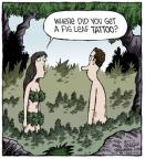 Cartoonist Dave Coverly  Speed Bump 2014-05-05 leaf