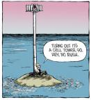 Cartoonist Dave Coverly  Speed Bump 2014-05-10 Lost