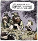 Comic Strip Dave Coverly  Speed Bump 2014-05-27 headwear