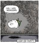Cartoonist Dave Coverly  Speed Bump 2014-05-28 fall