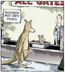 Cartoonist Dave Coverly  Speed Bump 2014-06-06 air travel