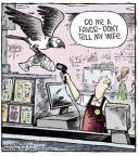 Cartoonist Dave Coverly  Speed Bump 2014-06-12 catch