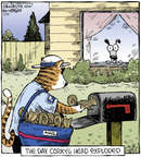 Cartoonist Dave Coverly  Speed Bump 2014-07-28 cat carrier