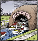 Cartoonist Dave Coverly  Speed Bump 2014-07-29 pile