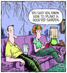 Cartoonist Dave Coverly  Speed Bump 2014-08-06 gardening