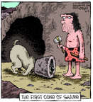 Cartoonist Dave Coverly  Speed Bump 2014-08-08 historic