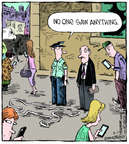 Cartoonist Dave Coverly  Speed Bump 2014-08-11 distract