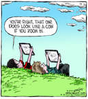 Cartoonist Dave Coverly  Speed Bump 2014-08-15 shape