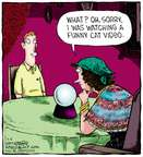 Cartoonist Dave Coverly  Speed Bump 2014-09-05 funny