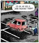Cartoonist Dave Coverly  Speed Bump 2014-10-06 plate