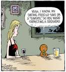 Cartoonist Dave Coverly  Speed Bump 2014-12-24 gingerbread man