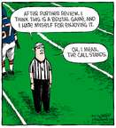 Cartoonist Dave Coverly  Speed Bump 2015-01-05 referee