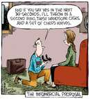 Cartoonist Dave Coverly  Speed Bump 2015-01-21 television cartoon