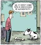 Comic Strip Dave Coverly  Speed Bump 2015-01-30 dog bone