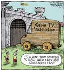 Comic Strip Dave Coverly  Speed Bump 2015-03-27 wooden horse