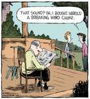 Cartoonist Dave Coverly  Speed Bump 2015-05-07 noise