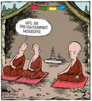Comic Strip Dave Coverly  Speed Bump 2015-05-09 Buddhism