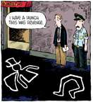 Cartoonist Dave Coverly  Speed Bump 2015-05-28 back