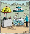 Cartoonist Dave Coverly  Speed Bump 2015-06-02 hot dog