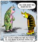 Cartoonist Dave Coverly  Speed Bump 2015-06-25 tickle