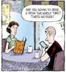 Cartoonist Dave Coverly  Speed Bump 2015-08-04 distraction