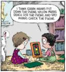 Cartoonist Dave Coverly  Speed Bump 2015-09-01 yellow light