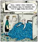 Cartoonist Dave Coverly  Speed Bump 2015-09-15 job