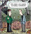 Cartoonist Dave Coverly  Speed Bump 2015-10-26 fall autumn