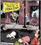 Cartoonist Dave Coverly  Speed Bump 2016-01-09 event