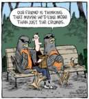 Cartoonist Dave Coverly  Speed Bump 2016-03-01 than