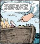 Cartoonist Dave Coverly  Speed Bump 2016-04-27 Noah's Ark