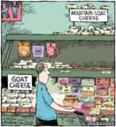 Cartoonist Dave Coverly  Speed Bump 2016-05-06 goat cheese